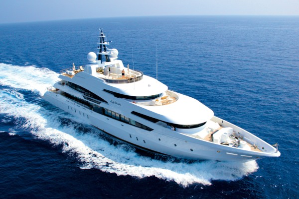 luxury yacht Lady Christina