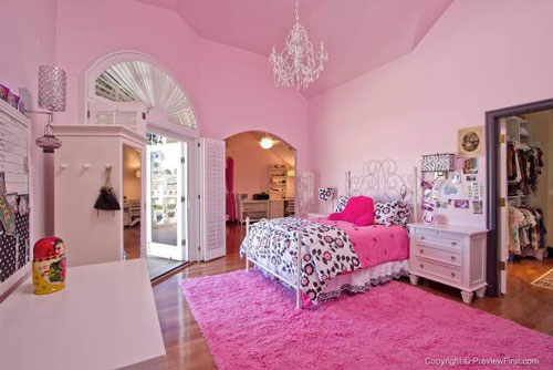 gallery for girly rooms for kids