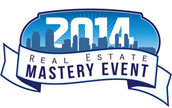 REAL ESTATE MASTERY EVENT, Tues Oct 14, 2014