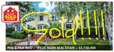 MARKET UPDATE San Diego Luxury Homes Sold Oct 15-Nov 16, 2014