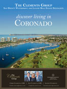 discover living in CORONADO with The Clements Group