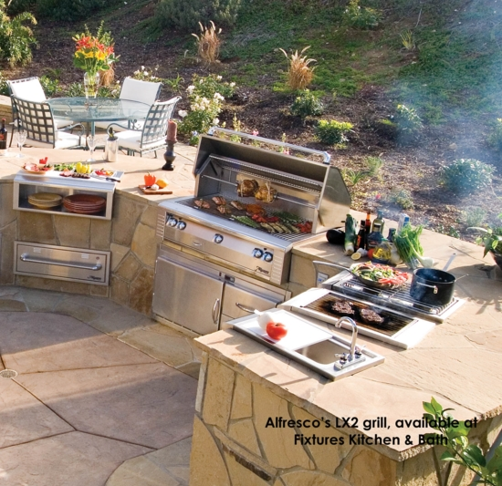 ... Ultimate Fully Self Contained Outdoor Kitchen.