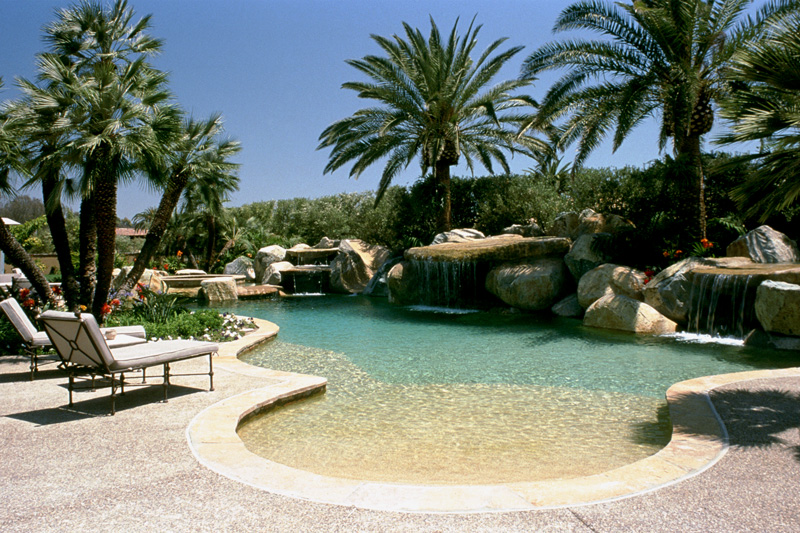 Your premier pool san diego premier for Beach entry swimming pool designs