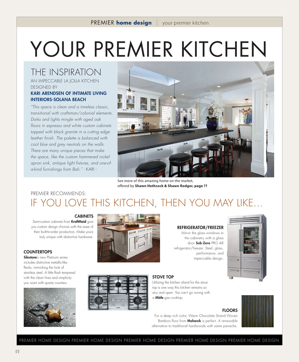 YOUR PREMIER KITCHEN | San Diego Premier