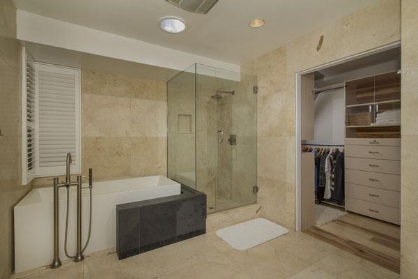 la jolla view home master bath