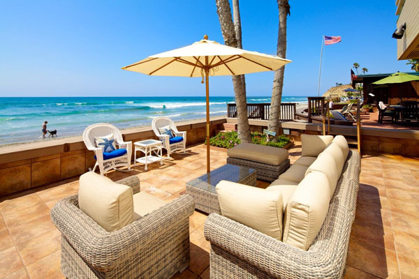 real estate on the sand in del mar