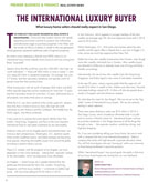 Business & Finance: The International Luxury Buyer