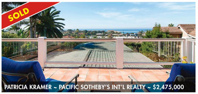 Solana Beach luxury real estate sold