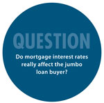 The Mortgage Panel: Do mortgage interest rates really affect the jumbo loan buyer?