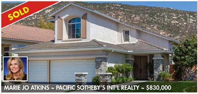rancho bernardo luxury real estate homes sold
