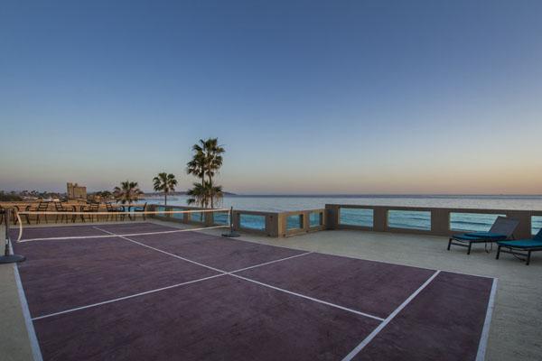 ocean front tennis court la jolla