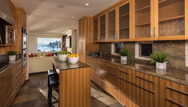 Ocean View Kitchen, Modern Ocean Front La Jolla Real Estate, Donna Medrea Pacific Sotheby's