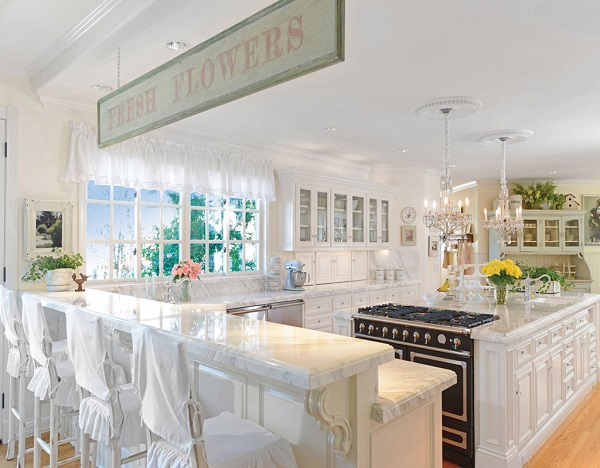Rose Hill Estate, Luxury White Kitchen, Rancho Sante Fe Kitchen