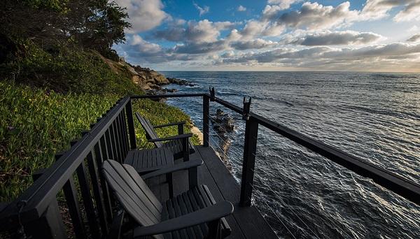 deck over the ocean