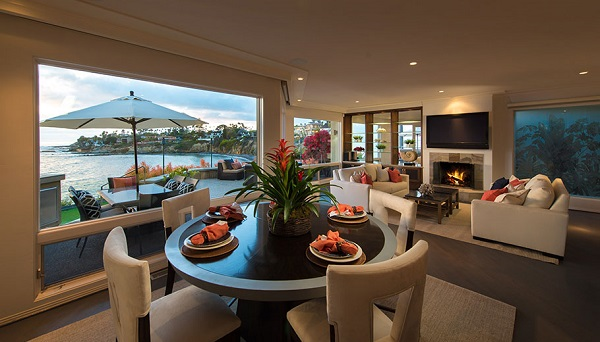 Beach front La Jolla Real Estate, Modern Beach House, Pacific Sotheby's Realty