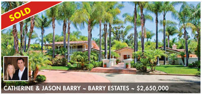 rancho santa fe luxury real estate sales homes sold