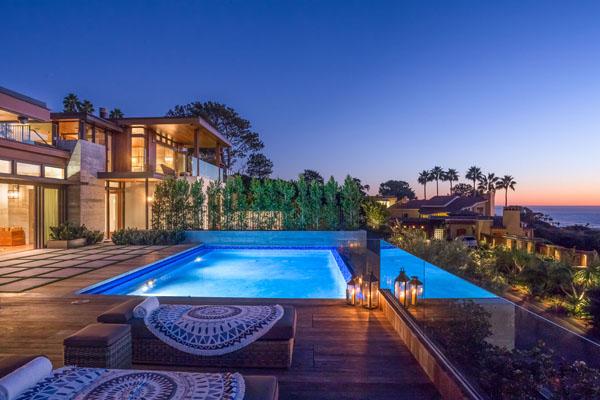 del mar luxury contemporary ocean view real estate