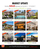 MARKET UPDATE: San Diego Luxury Real Estate SOLD 6/16-7/15/2017