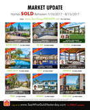MARKET UPDATE: San Diego Luxury Real Estate SOLD 7/16-8/15/2017